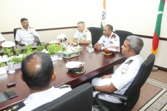 Chief Hydrographer's Visit to Maldives