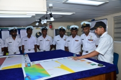 TRAINING OF SRI LANKAN NAVY PERSONNEL ONBOARD INS JAMUNA