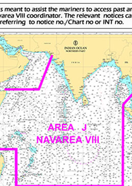 Search Indian Notices to Mariners (Paper Charts)
