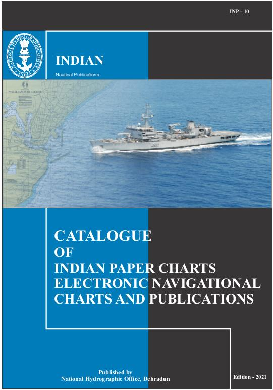 INP-10 (Catalogue of Indian Charts, ENCs & Publications)
