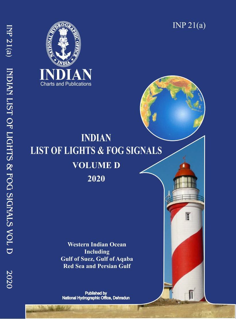 Indian List of Lights & Fog Signals – Vol D