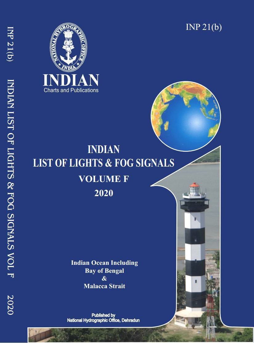 Indian List of Lights & Fog Signals – Vol F